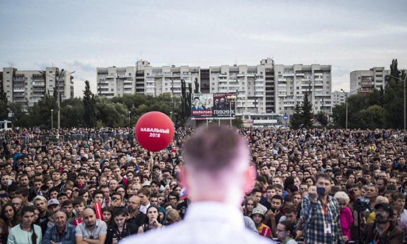 навальный омск выборы