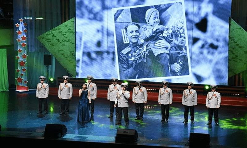 В Омске состоялся концерт «Родом из 45-го!»