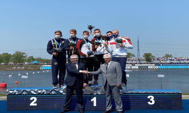 Омские гребцы стали призёрами Кубка мира