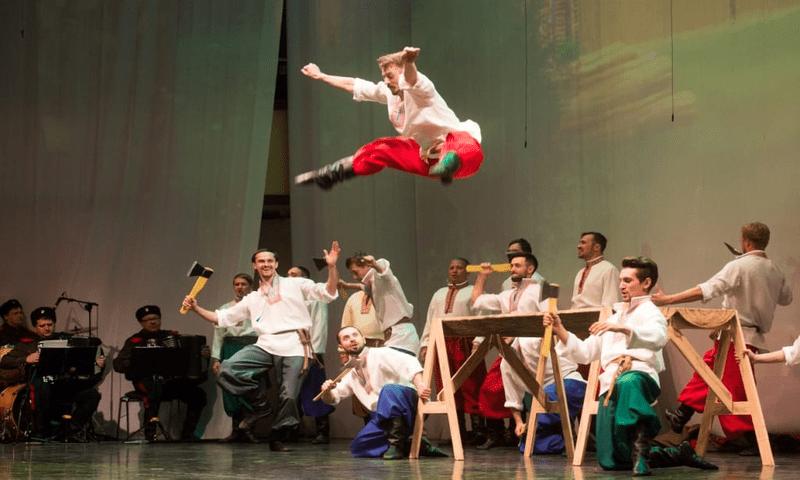 Артисты балета Омского русского народного хора стали Лауреатами I премии во Всероссийском конкурсе артистов балета